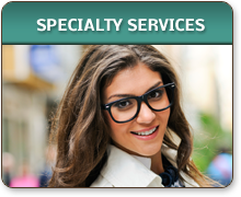 specialty services available at The Optical Boutique